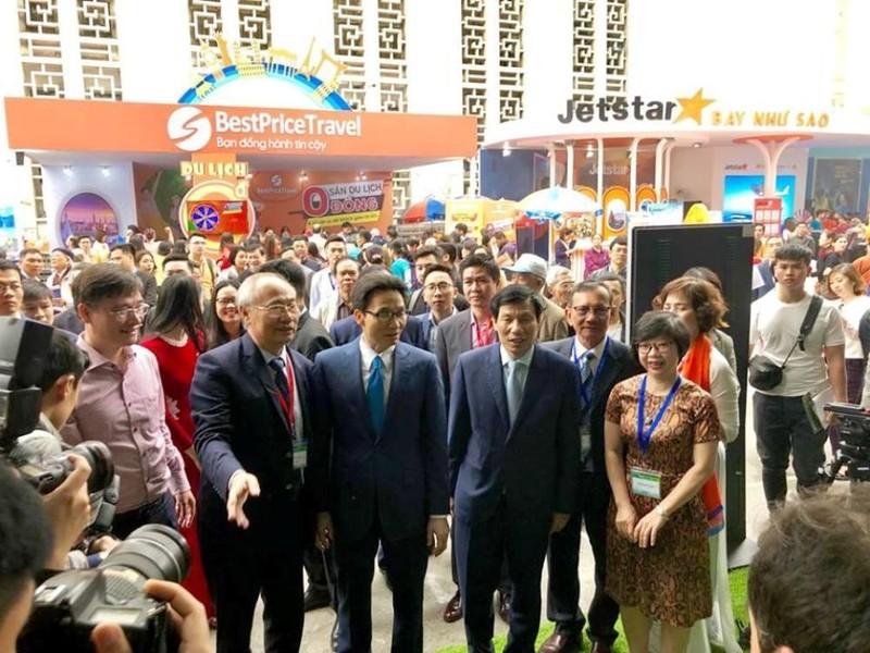 Khai mạc Hội chợ Du lịch quốc tế Việt Nam - ảnh 1