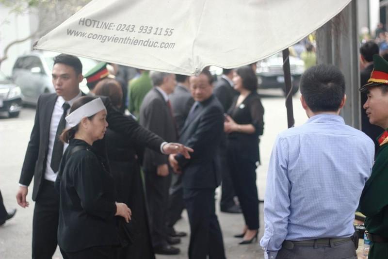Thắt chặt an ninh tại Lễ tang Tướng Đồng Sỹ Nguyên - ảnh 2