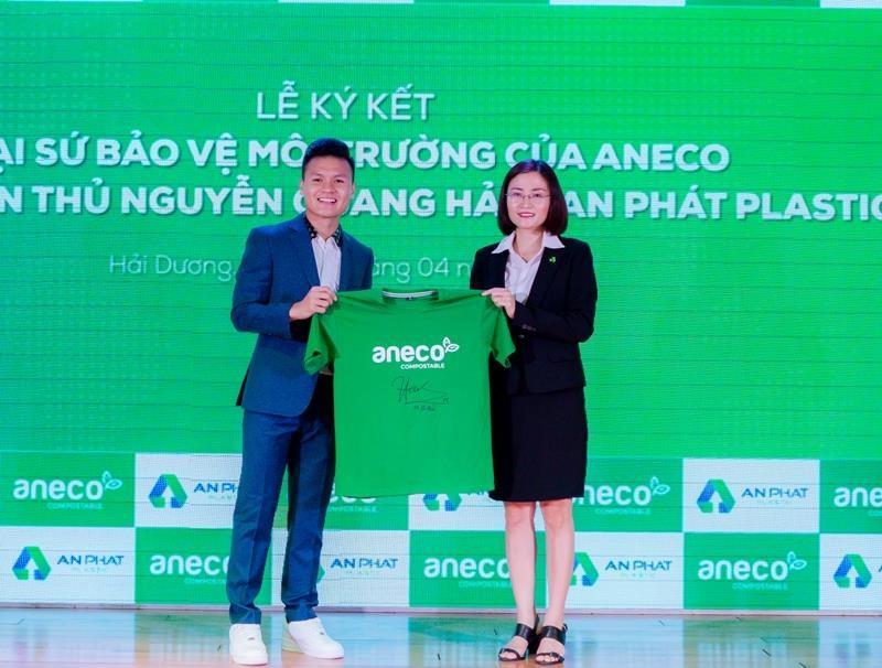 Quang Hải trở thành Đại sứ bảo vệ môi trường - ảnh 1