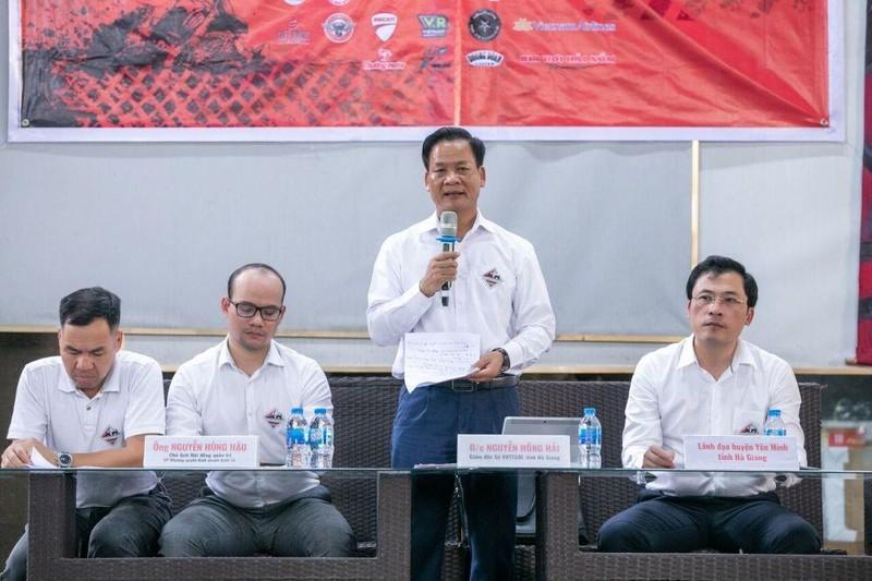 Hà Giang lần đầu đăng cai giải trình diễn, thi đấu xe địa hình - ảnh 1