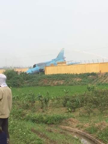 Máy bay quân sự Su-22 gặp sự cố khi huấn luyện bay ở Yên Bái - ảnh 1