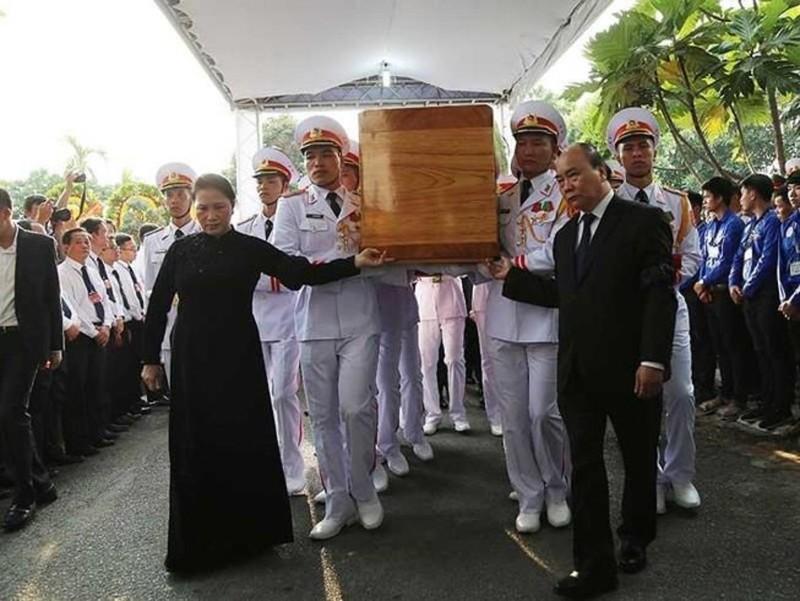 Lời cảm ơn của Ban Lễ tang và gia đình Đại tướng Lê Đức Anh - ảnh 1