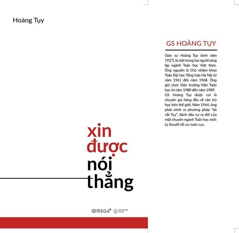 GS Hoàng Tụy 'Xin được nói thẳng' - ảnh 1