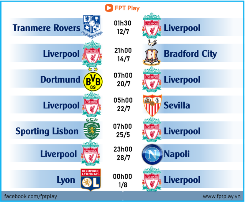 FPT Telecom phát sóng độc quyền các trận của Liverpool - ảnh 1