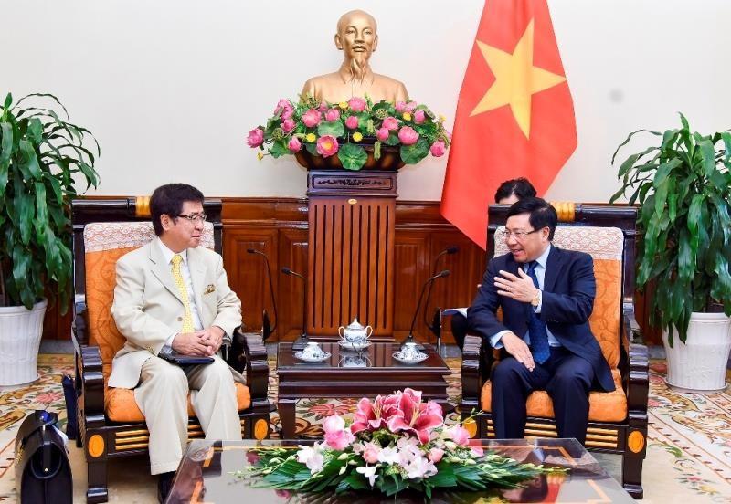 Nhật mong muốn tăng cường hợp tác với Việt Nam - ảnh 1