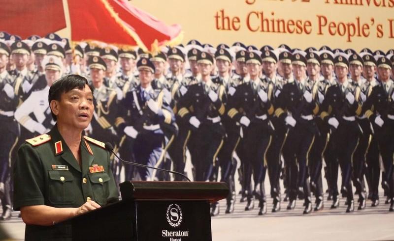 Tùy viên quân sự Trung Quốc nói 'không đe dọa bất cứ nước nào' - ảnh 2