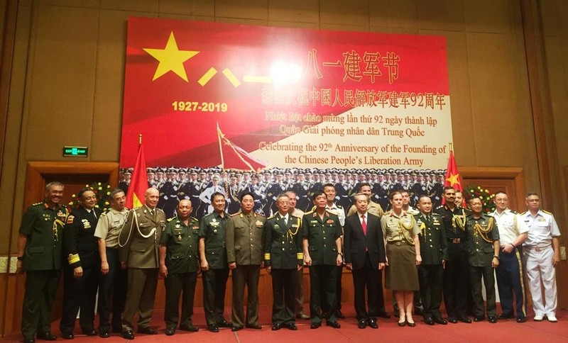 Tùy viên quân sự Trung Quốc nói 'không đe dọa bất cứ nước nào' - ảnh 3