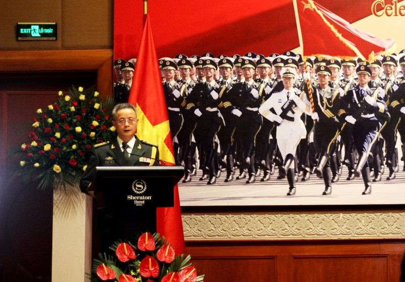 Tùy viên quân sự Trung Quốc nói 'không đe dọa bất cứ nước nào' - ảnh 1