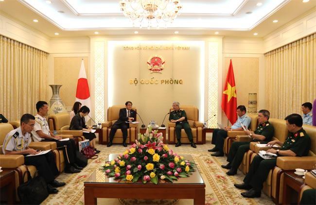 Quan hệ quốc phòng Việt - Nhật là trụ cột quan trọng  - ảnh 1