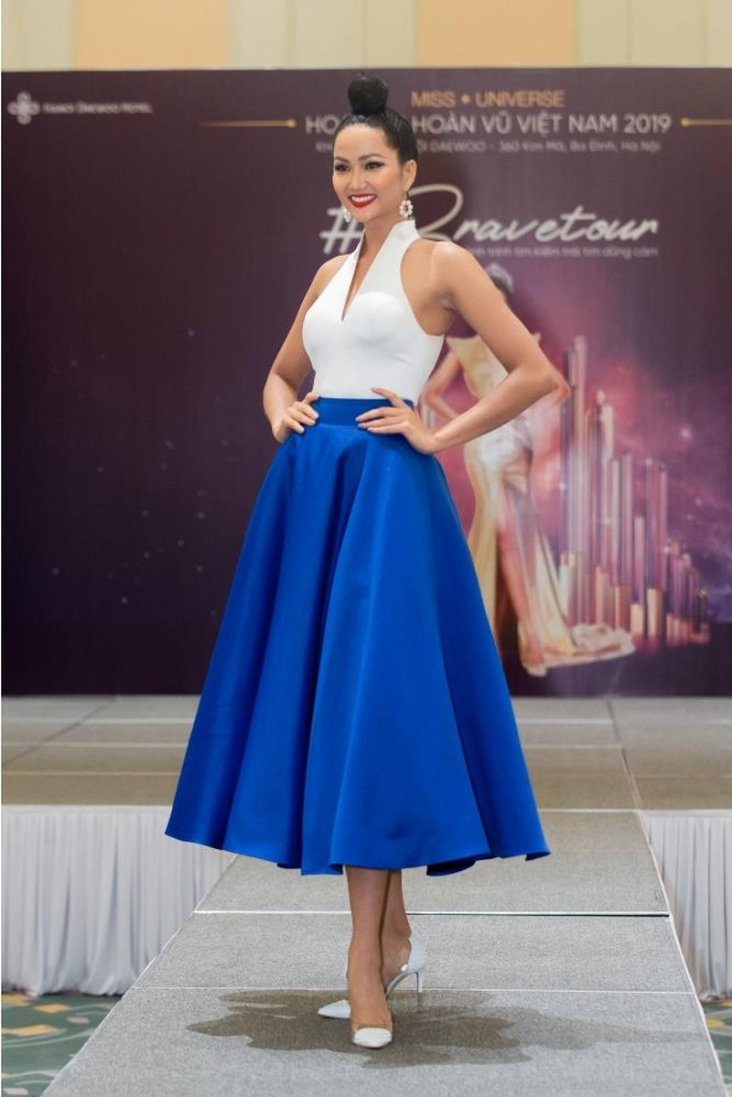 Hoa hậu H'Hen Nie tự tin nói thời trang mình quá tệ - ảnh 2