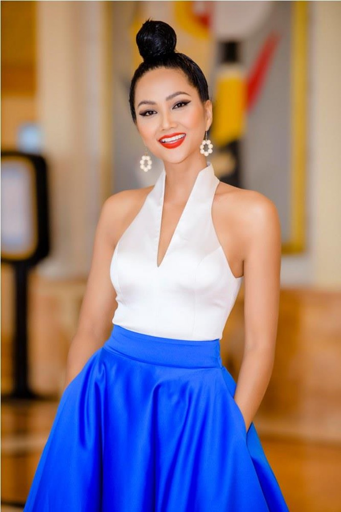 Hoa hậu H'Hen Nie tự tin nói thời trang mình quá tệ - ảnh 4
