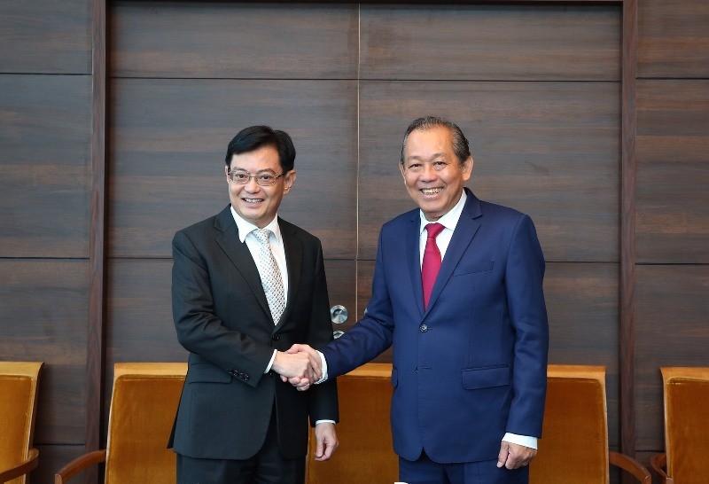Việt Nam - Singapore hợp tác phòng, chống tham nhũng - ảnh 1