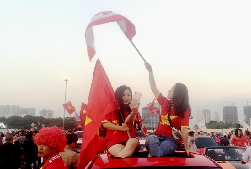 Cổ động viên Việt Nam: 'Thái Lan ơi xưa rồi' - ảnh 4