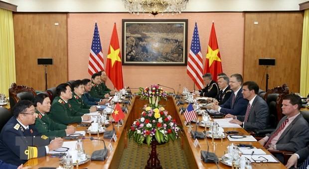Bộ Ngoại giao nói về chuyến thăm của Bộ trưởng Quốc phòng Mỹ - ảnh 1
