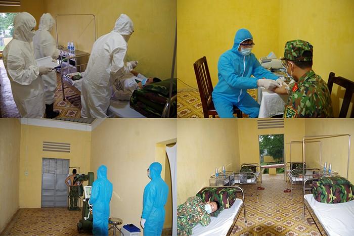 Bộ Quốc phòng tổ chức 250 điểm diễn tập chống dịch COVID-19  - ảnh 1