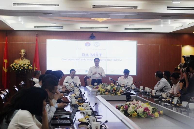 Ra mắt hai ứng dụng khai báo y tế tại Việt Nam  - ảnh 1