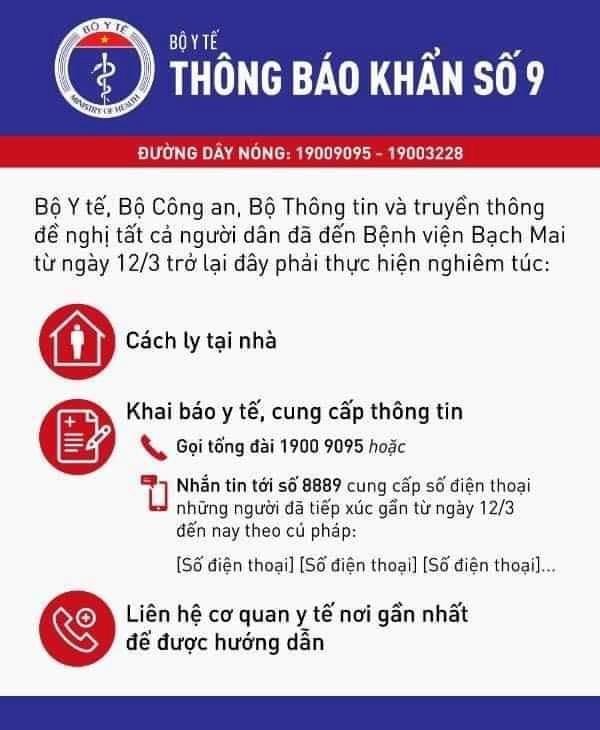 Nhà mạng gửi tin nhắn tới 18.000 người khám ở Bạch Mai - ảnh 1