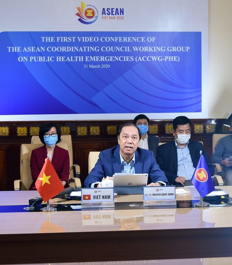 Các nước ASEAN họp trực tuyến về dịch COVID-19 - ảnh 1