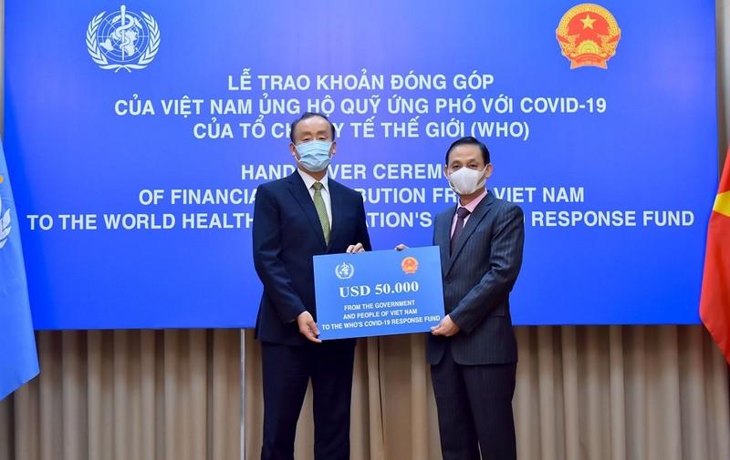 Việt Nam ủng hộ quỹ ứng phó với COVID-19 của WHO - ảnh 1