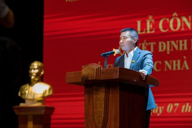 Nghệ sĩ Công Lý nhậm chức phó giám đốc Nhà hát Kịch Hà Nội - ảnh 1