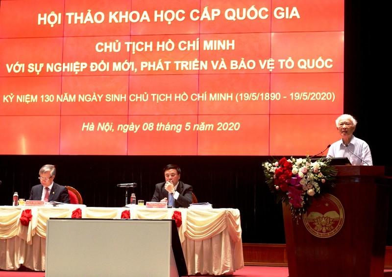 Nguyên Phó Thủ tướng Vũ Khoan: Học Bác ở 'nói đi đôi với làm' - ảnh 1
