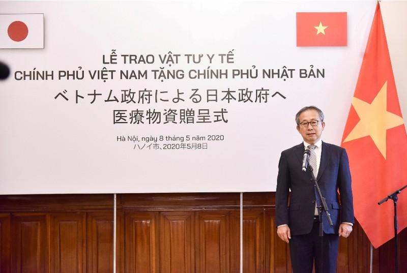 Đại sứ Nhật Bản khen Việt Nam ứng phó dịch bệnh COVID-19 - ảnh 1