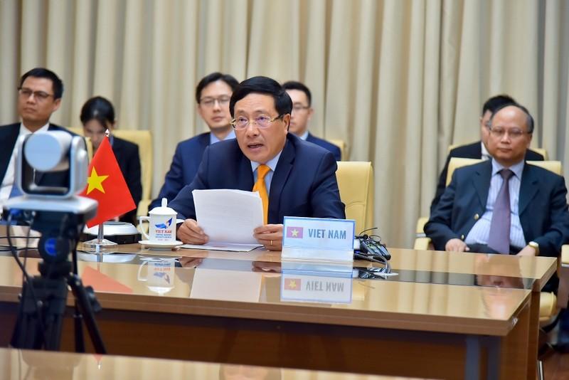 Phó Thủ tướng trích lời Bác Hồ trong phiên họp cấp cao của LHQ - ảnh 1