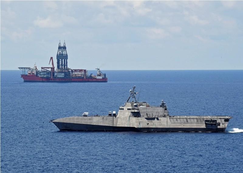 Mỹ triển khai tàu tác chiến ven bờ đến Nam Biển Đông - ảnh 1