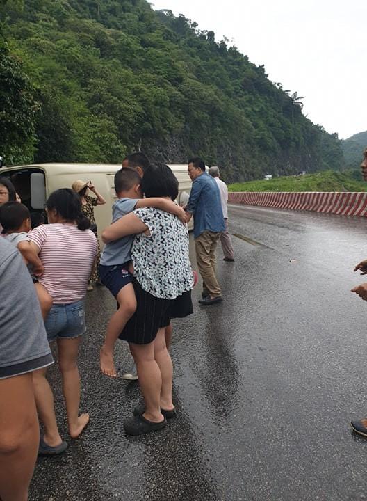Tình người cảm động trong một vụ tai nạn giao thông - ảnh 1