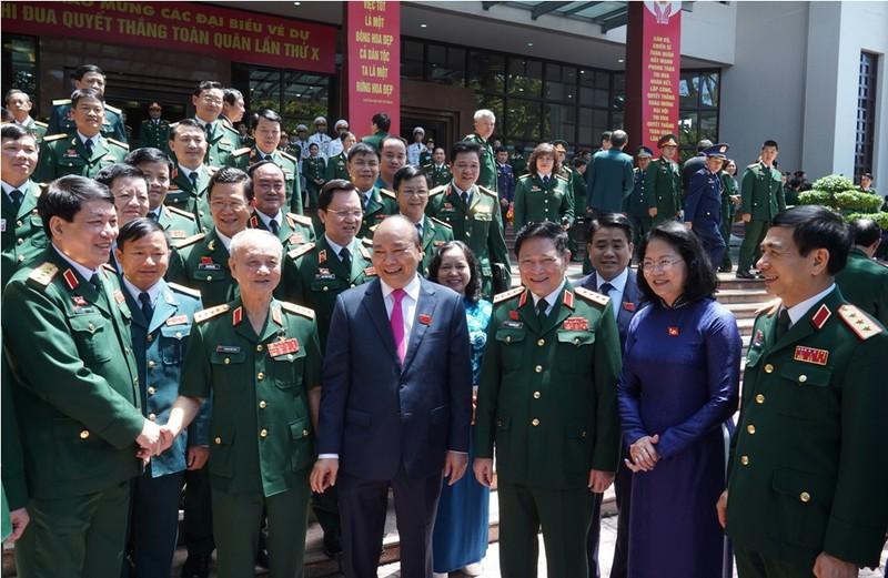 Thủ tướng dự Đại hội Thi đua Quyết thắng toàn quân - ảnh 1