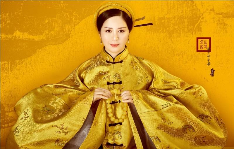 Đưa văn hoá truyền thống, đương đại lên trang phục áo dài - ảnh 2