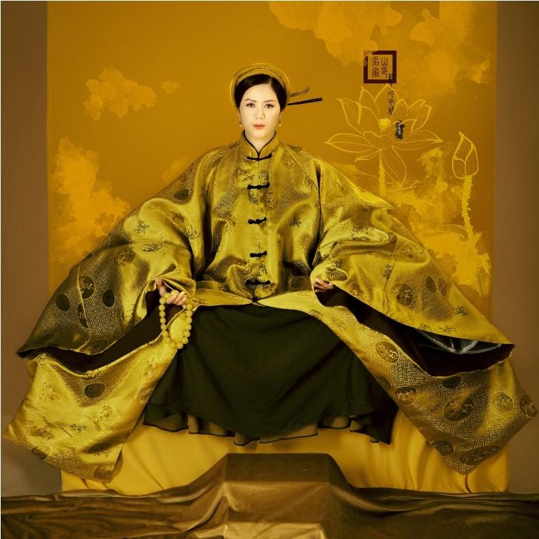 Đưa văn hoá truyền thống, đương đại lên trang phục áo dài - ảnh 3