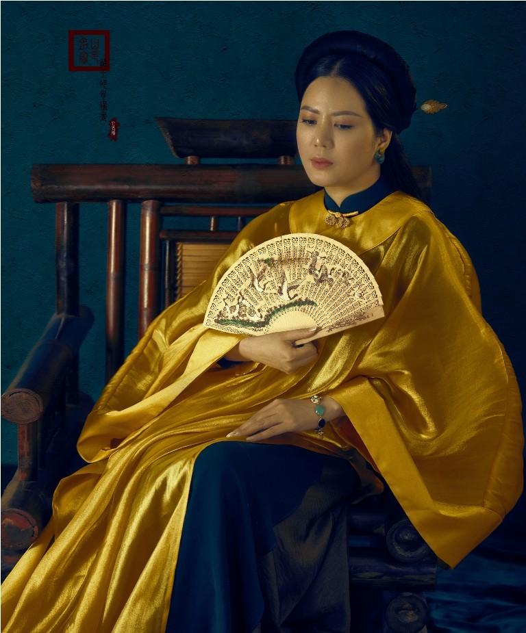 Đưa văn hoá truyền thống, đương đại lên trang phục áo dài - ảnh 5
