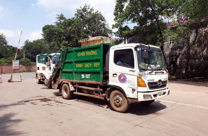 Sau đối thoại, bãi rác Nam Sơn mở cửa trở lại  - ảnh 1