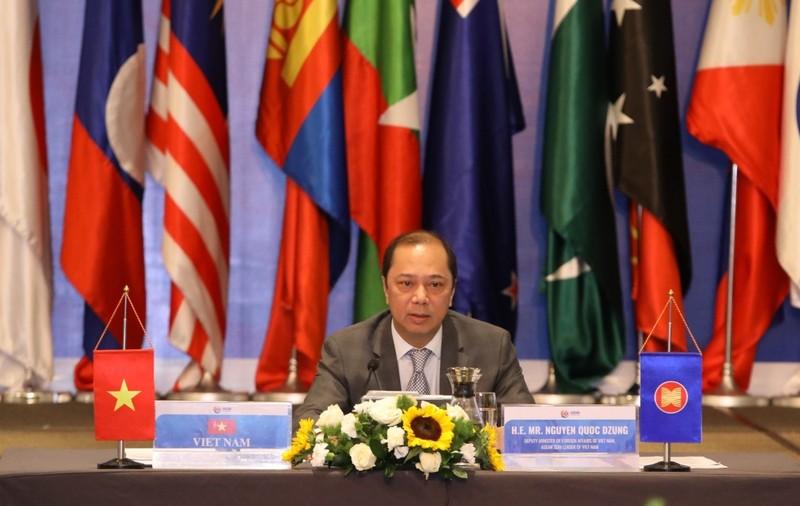 Nhiều nước quan ngại về việc quân sự hóa ở Biển Đông - ảnh 1
