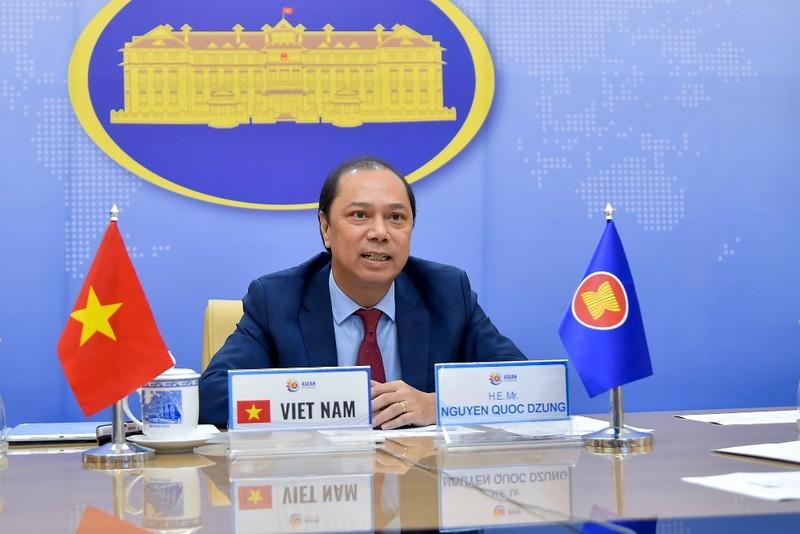 Việt Nam đề nghị các bên kiềm chế ở Biển Đông  - ảnh 1