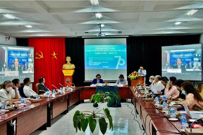 Tình hữu nghị Việt-Trung là tài sản quý báu  - ảnh 1