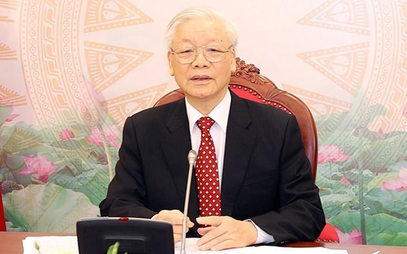 Việt Nam luôn coi trọng phát triển quan hệ với Trung Quốc - ảnh 1