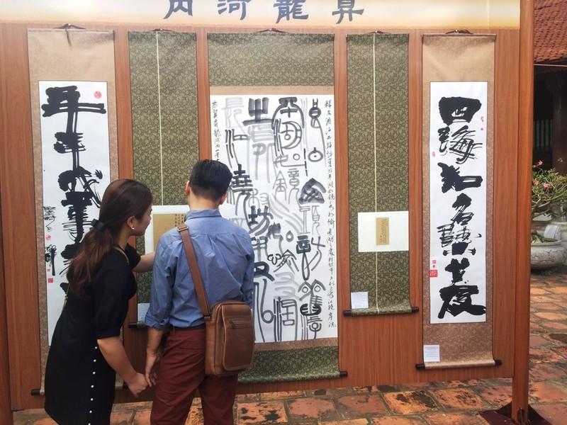 Triển lãm thư pháp kỷ niệm 1010 năm Thăng Long - Hà Nội - ảnh 1