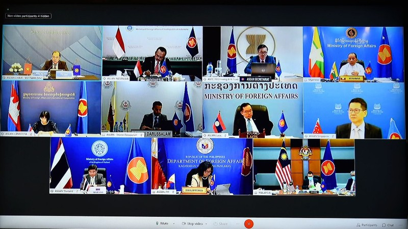 ASEAN phối hợp với Trung Quốc về Bộ Quy tắc ứng xử ở biển Đông - ảnh 1