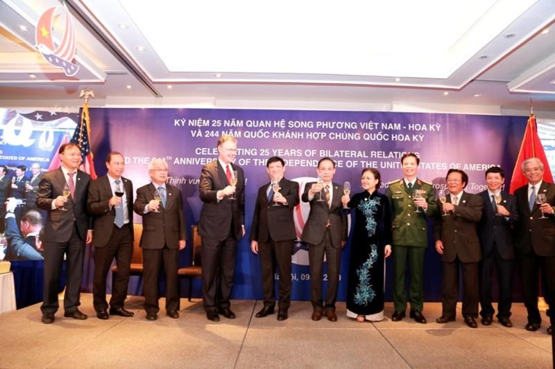 Mỹ ủng hộ Việt Nam lớn mạnh, độc lập và thịnh vượng  - ảnh 1