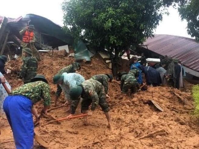 Bộ Quốc phòng thông tin chính thức vụ sạt lở đất ở Đoàn 337 - ảnh 1
