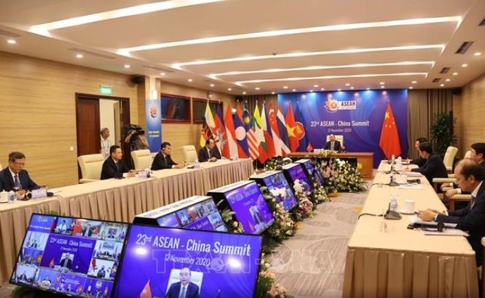 Thủ tướng chủ trì Hội nghị Cấp cao ASEAN – Trung Quốc 23 - ảnh 1