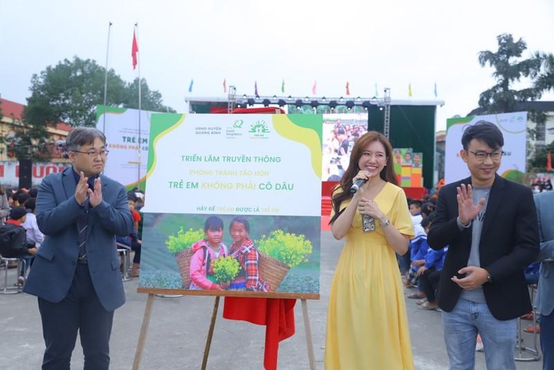 Hari Won, H'Hen Niê truyền thông điệp về nạn tảo hôn  - ảnh 2