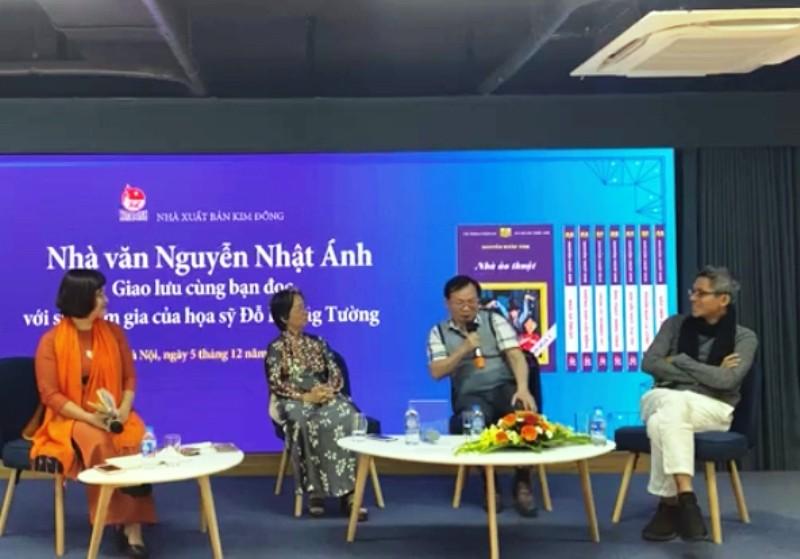 Người Hà Nội vượt lạnh đến xin chữ ký nhà văn Nguyễn Nhật Ánh - ảnh 1