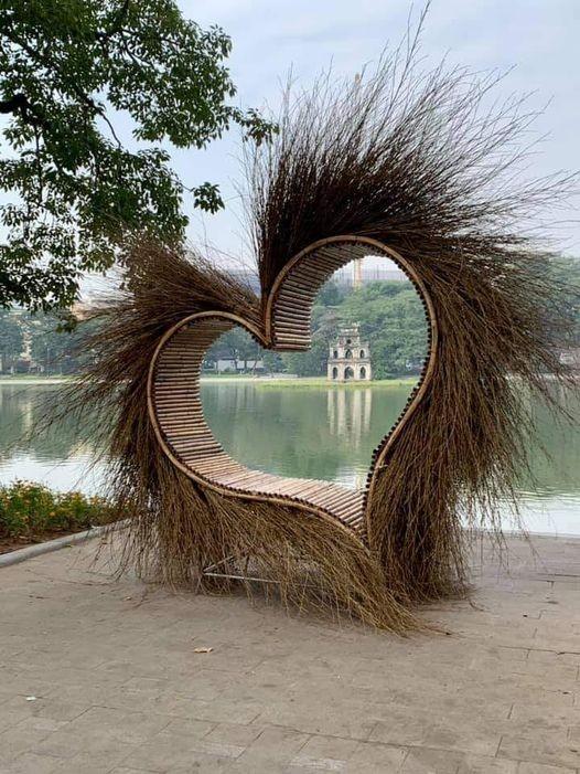 Sự thật về 'trái tim lông' ở Hồ Gươm - ảnh 1