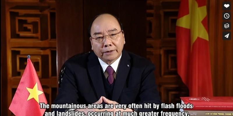 Thủ tướng gửi thông điệp đến Hội nghị thượng đỉnh về khí hậu - ảnh 1