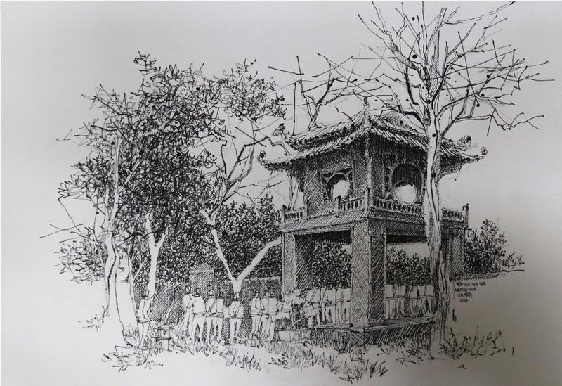 'Khuê Văn Các' đạt giải Nhất Ký họa Văn Miếu- Quốc Tử Giám - ảnh 4