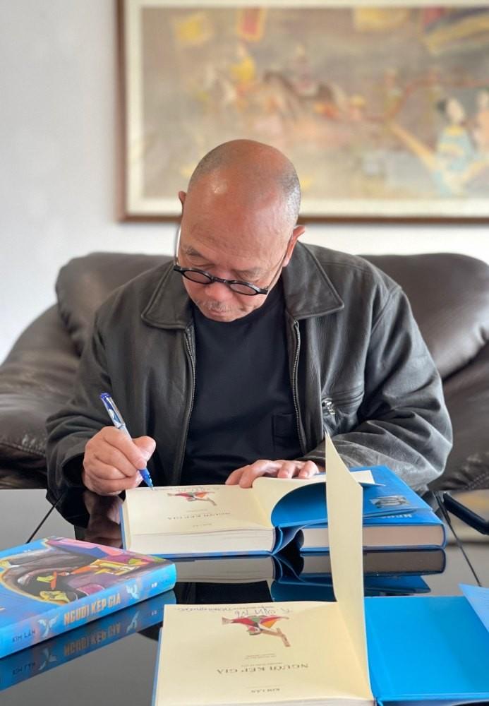 Con trai nhà văn Kim Lân vẽ minh họa cho sách bố mình - ảnh 2