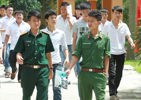 Bộ Quốc phòng thông tin về tuyển sinh các trường quân đội 2021 - ảnh 1